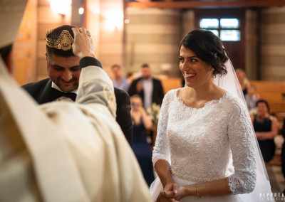 Maronite wedding Collegio Siro Maronita Rome