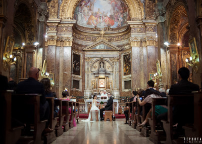 Wedding San Silvestro in Capite Rome