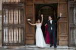 Wedding ceremony San SIlvestro Capite Rome