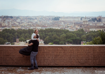 Engagement photo shooting Rome