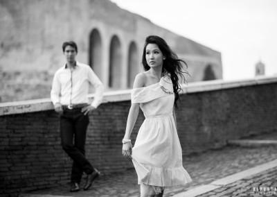 Honeymoon photography Rome Italy
