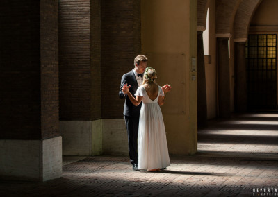 Romantic small wedding Rome