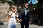 Romantic wedding Rome Italy