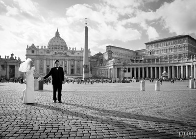 Photo tour Rome Saint Peter Square