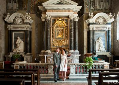 Wedding Battistero Lateranense Rome