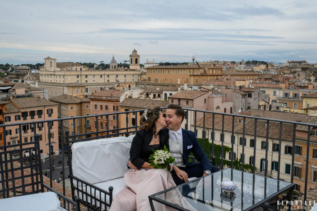 Rooftop Wedding In Rome Celebrate Your Love With A Breath