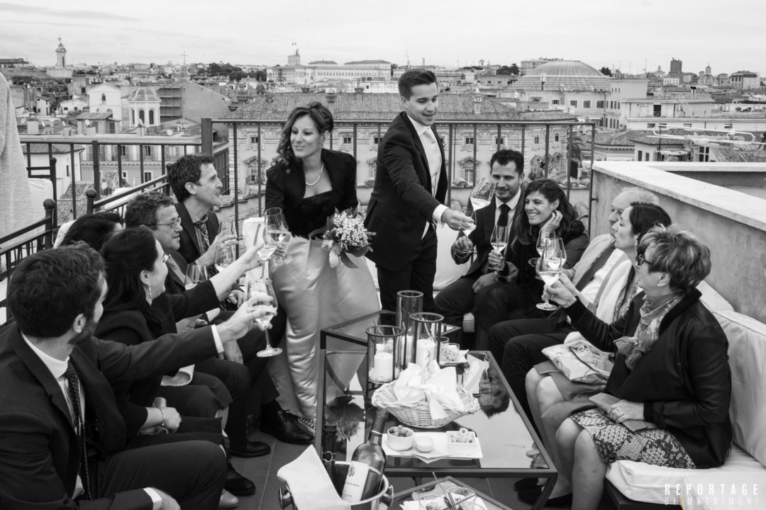Rooftop wedding in Rome: celebrate your love with a breath-taking view