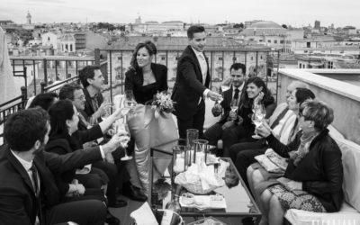 Rooftop Borromini Terrace Rome