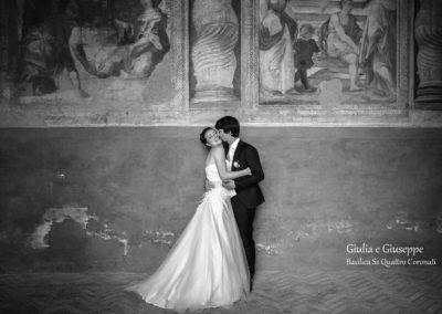 Wedding Basilica Quattro Coronati Rome